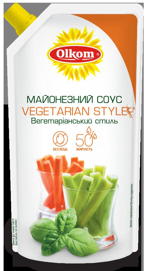 Vegetarian Style 50 %