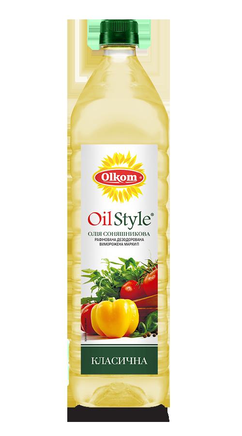 Oil Style classic sunflower oil