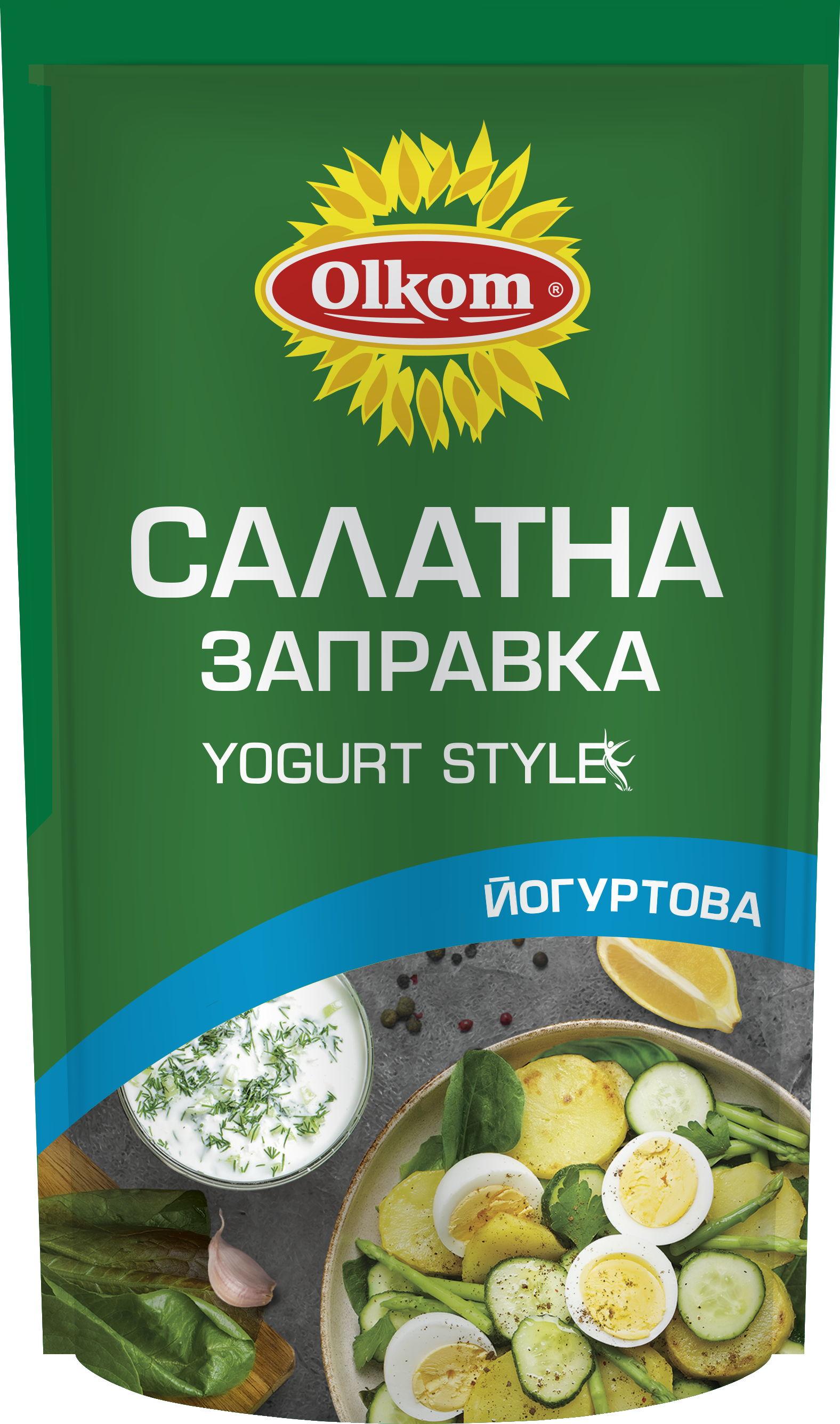 Yogurt Style salad dressing