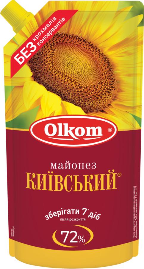 Майонез Київський 72 %